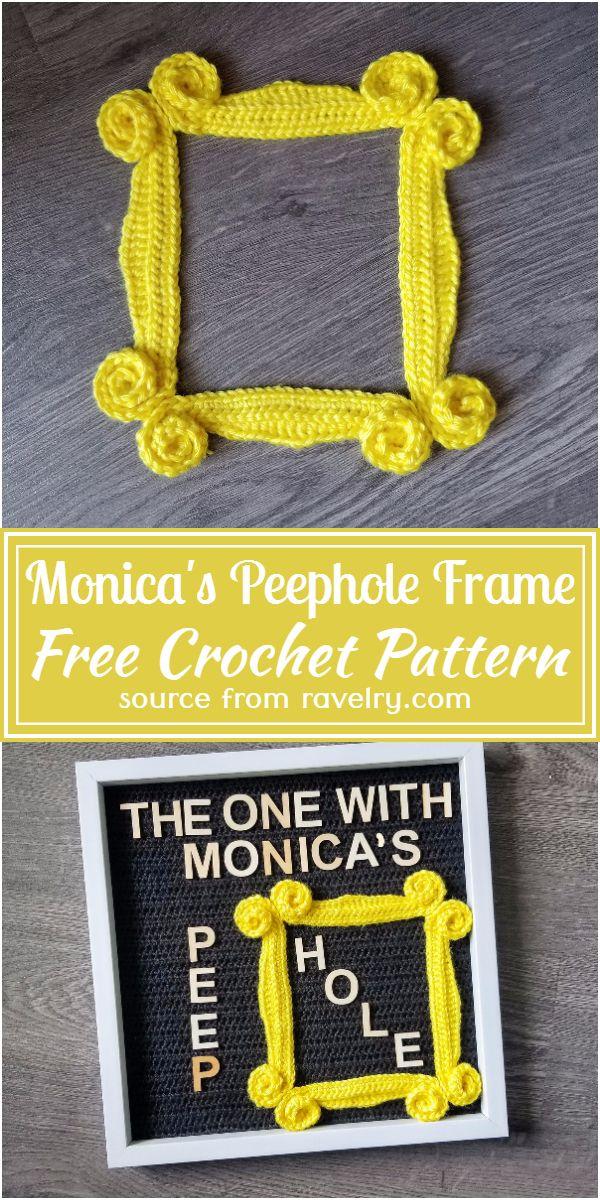 Free Crochet Monica's Peephole Frame Pattern