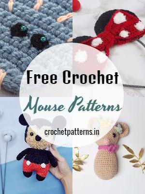 Free Crochet Mouse Patterns