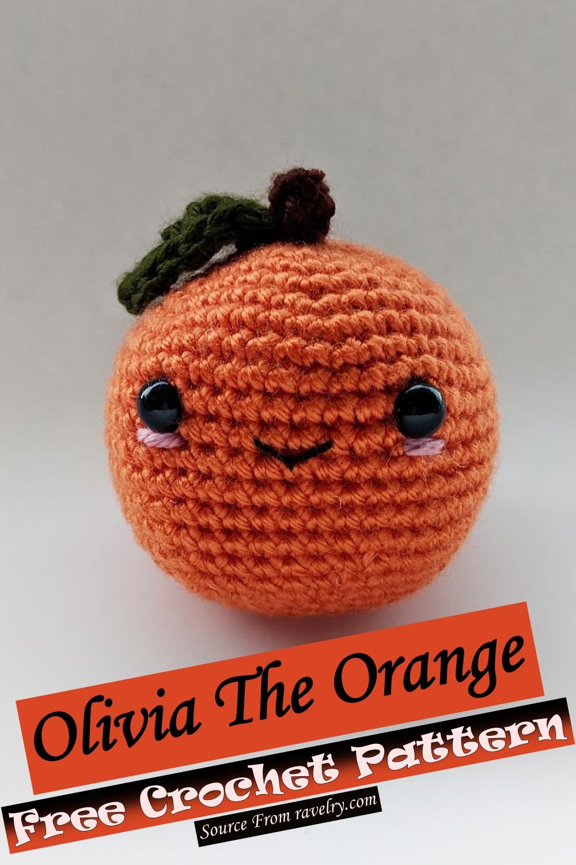 Free Crochet Olivia The Orange Pattern