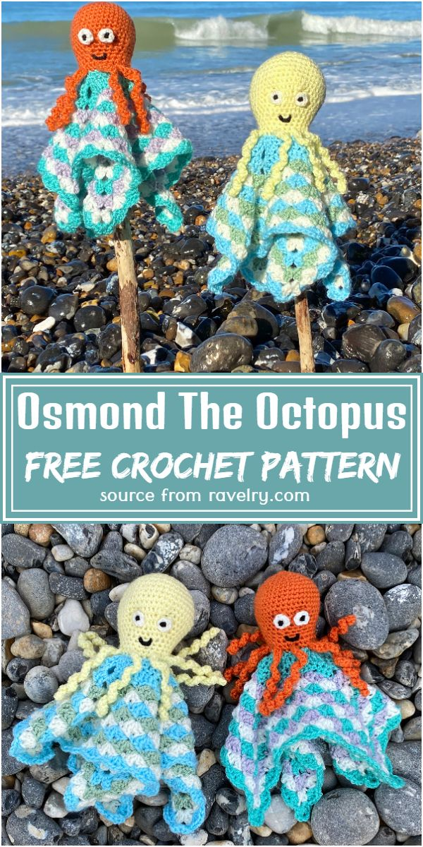 Free Crochet Osmond The Octopus Pattern