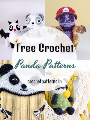 Free Crochet Panda Patterns