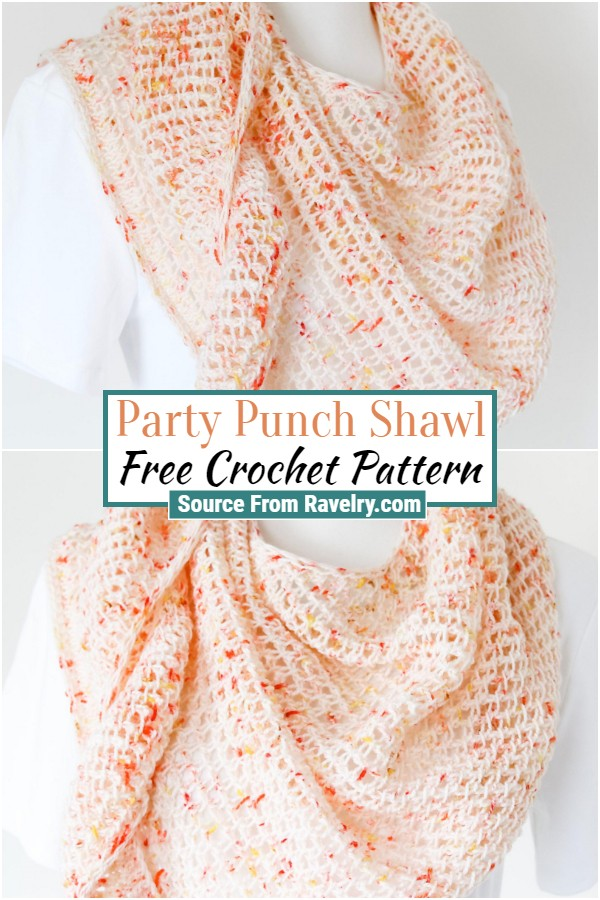 Free Party Punch Shawl