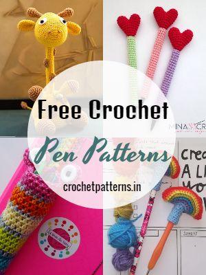 Free Crochet Pen Patterns