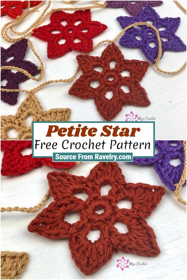 Free Crochet Petite Star