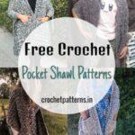 Free Crochet Pocket Shawl Patterns