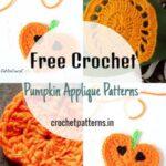 Free Crochet Pumpkin Applique Patterns