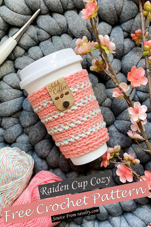 Free Crochet Raiden Cup Cozy Pattern