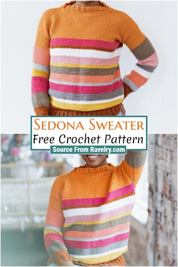 Free Crochet Sedona Sweater