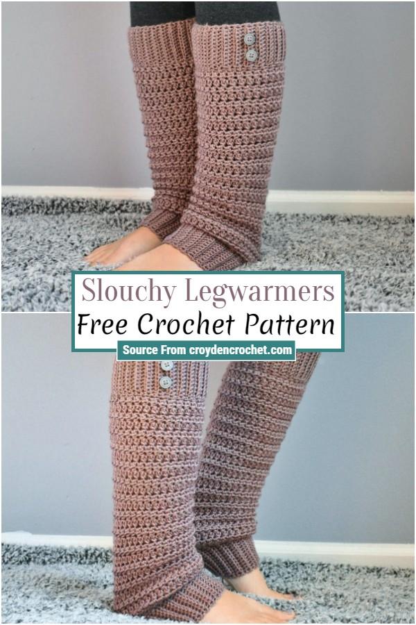 Free Crochet Slouchy Legwarmers