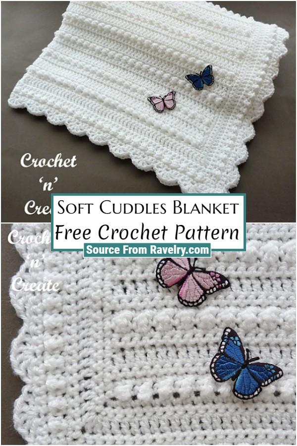 Free Crochet Soft Cuddles Blanket