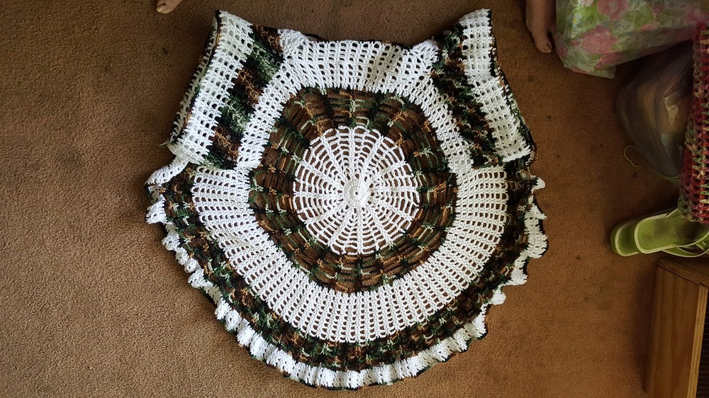 Free Crochet Spider Web Cardigan Pattern