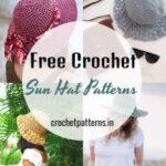 Stylish And Modern Free Crochet Sun Hat Patterns