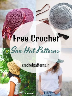Free Crochet Sun Hat Patterns