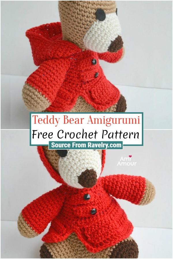 Free Crochet Teddy Bear Amigurumi