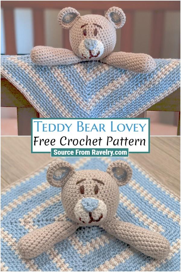 Free Crochet Teddy Bear Lovey