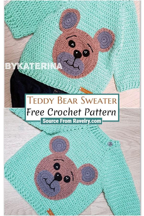 Free Crochet Teddy Bear Sweater