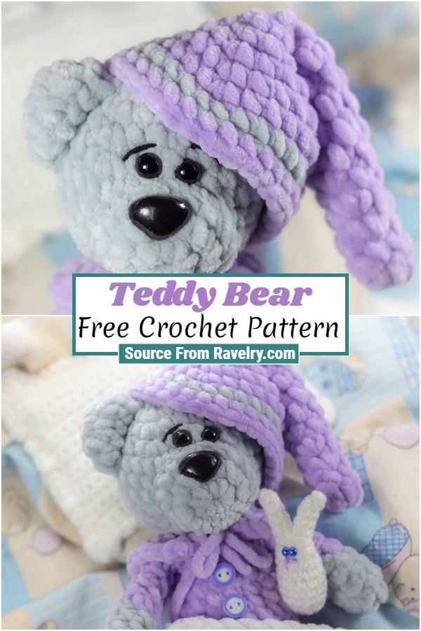 Free Crochet Teddy Bear