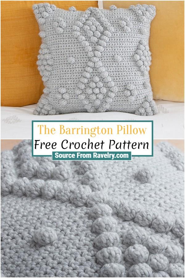 Free Crochet The Barrington Pillow