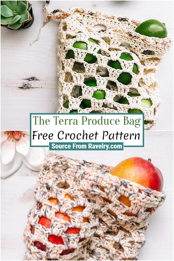 Free Crochet The Terra Produce Bag