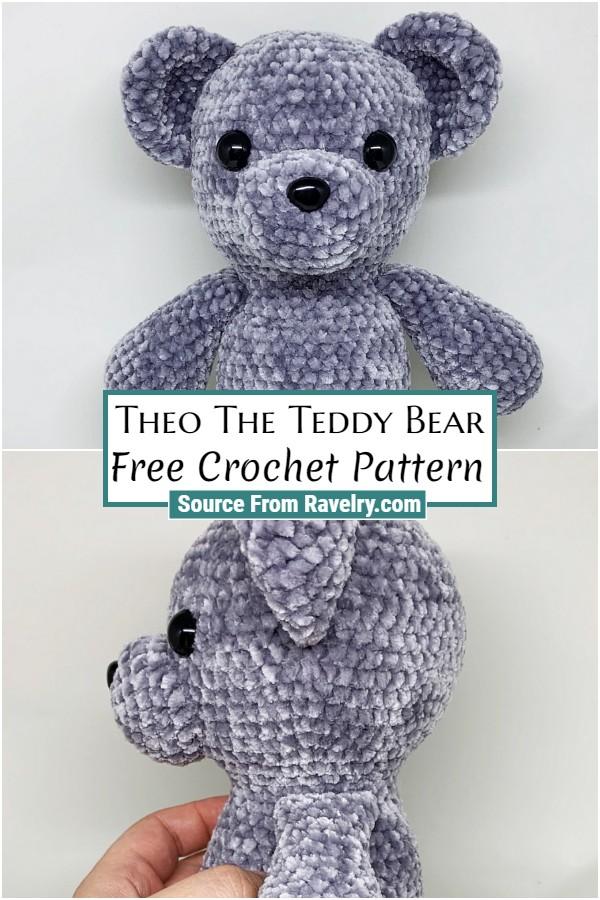 Free Crochet Theo The Teddy Bear