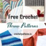 Superb Texture Free Crochet Throw Patterns