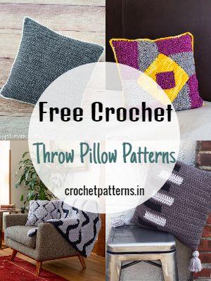 Free Crochet Throw Pillow Patterns