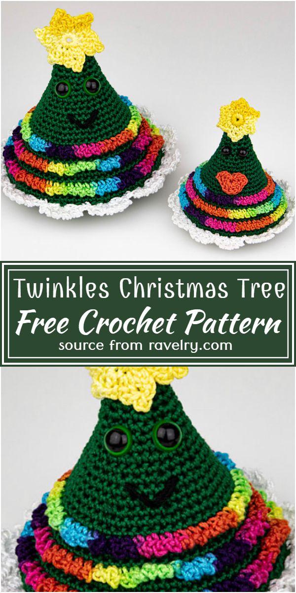 Free Crochet Twinkles Christmas Tree Pattern