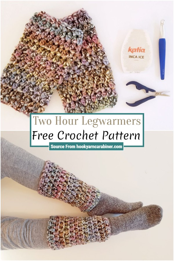Free Crochet Two Hour Legwarmers