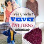 Adorable And Unique Free Crochet Velvet Patterns