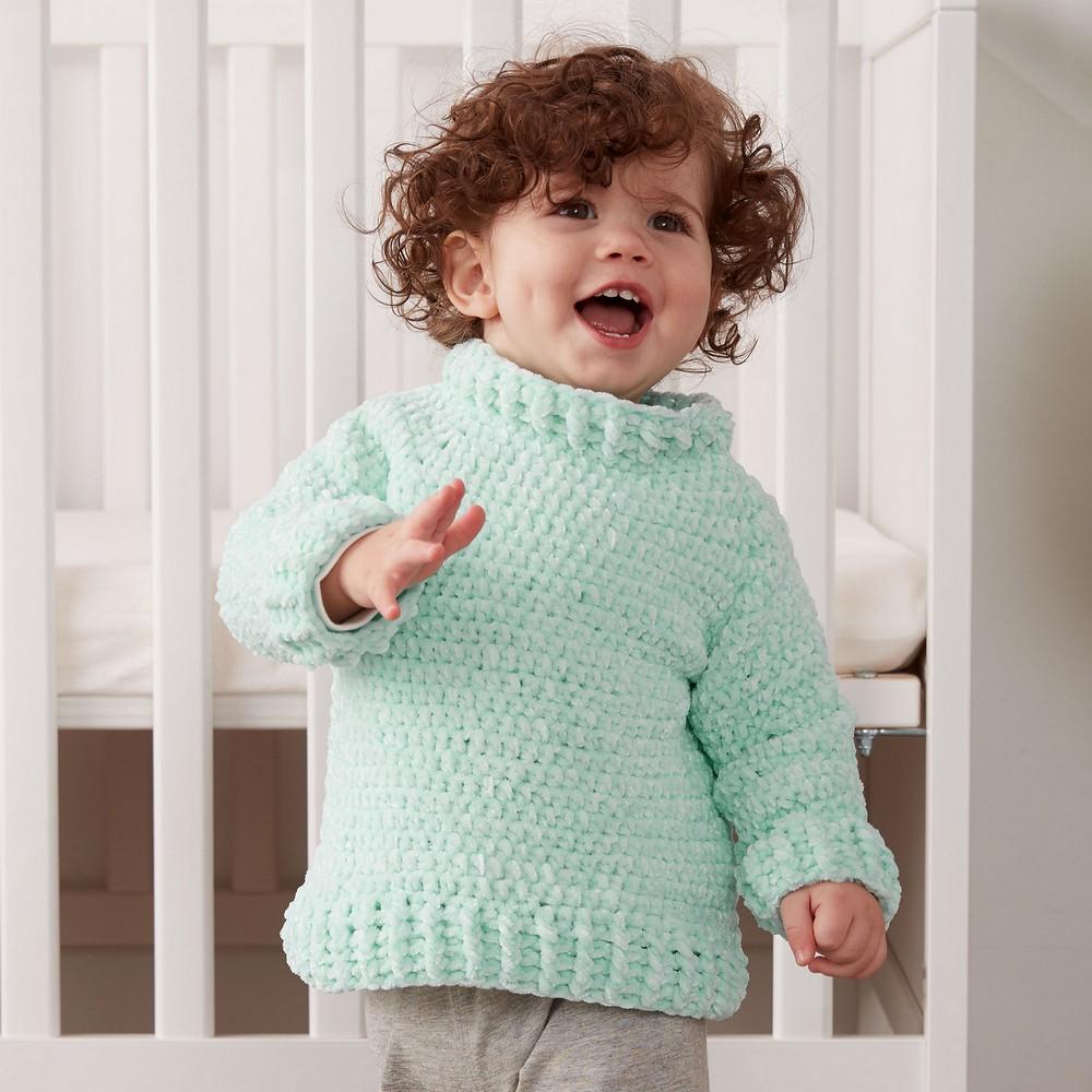 Free Crochet Velvet Sweater Pattern