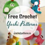 Free Crochet Yoshi Patterns - Fun Crochet Patterns