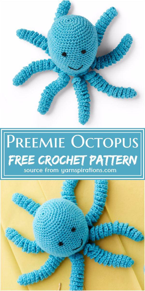 Free Preemie Crochet Octopus Pattern