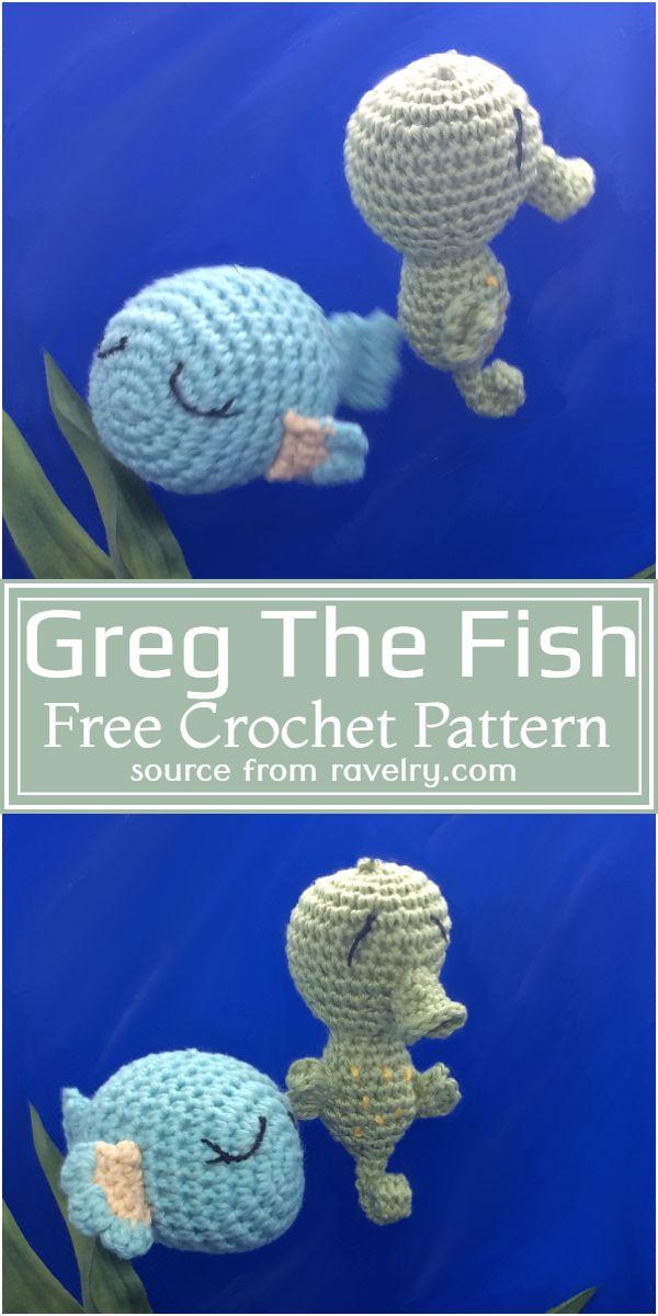 Greg The Crochet Fish Pattern