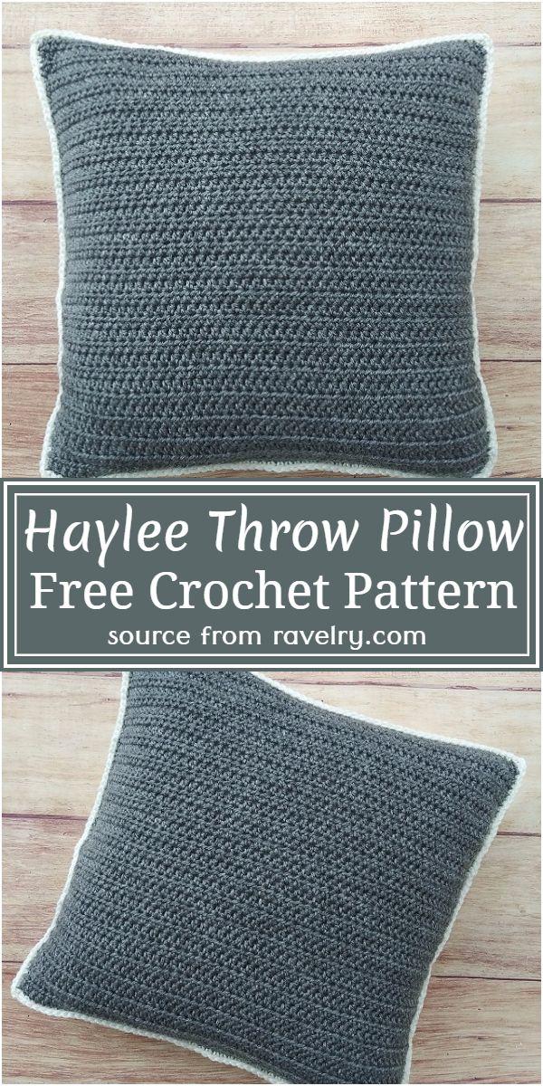 Haylee Throw Free Pattern