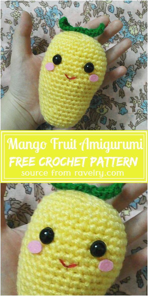 Fruit Amigurumi Pattern