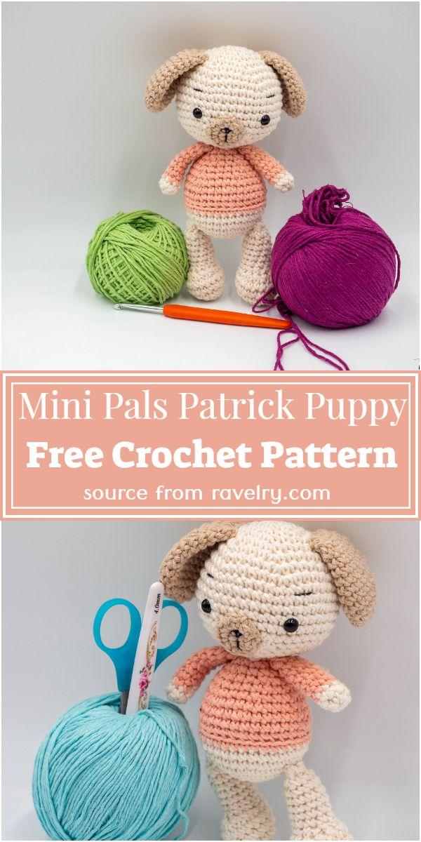 Mini Pals Patrick Free Pattern