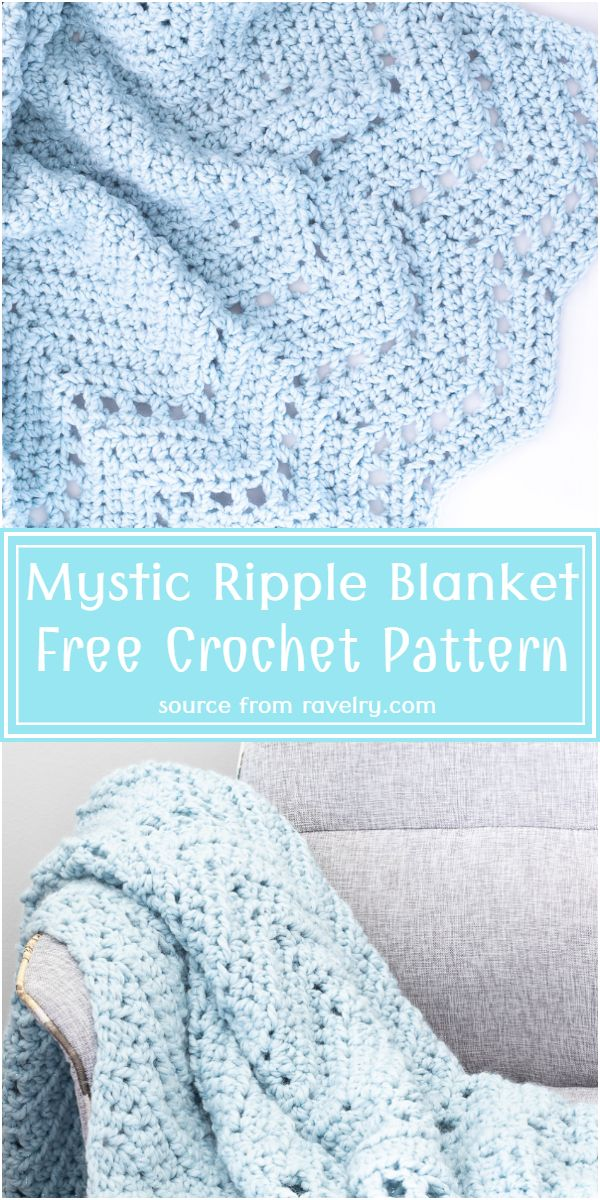Mystic Blanket Free Pattern
