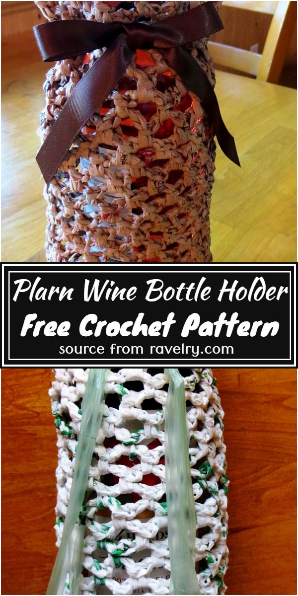 Plarn Wine Free Pattern