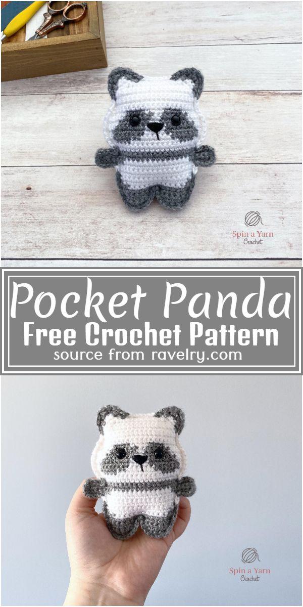 Pocket size amigurumi Free Pattern