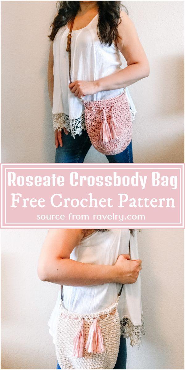 Roseate Crossbody Bag Crochet Pattern