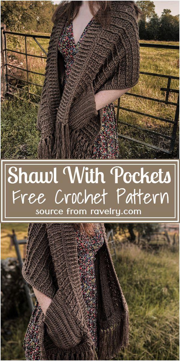 Shawl With Pattern