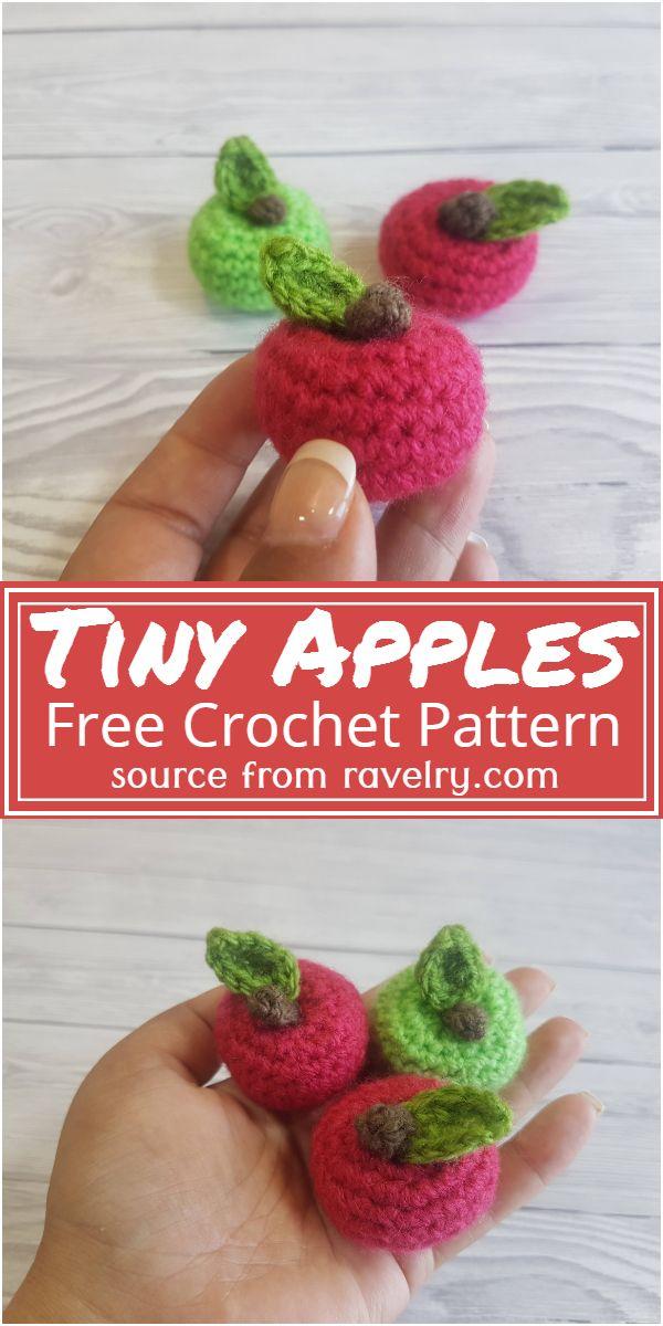 Tiny Apples Crochet Pattern