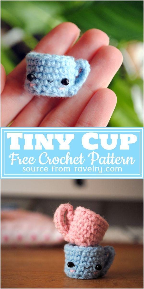 Tiny Cup Crochet Pattern