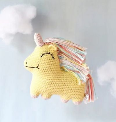 Uni Queen Free Unicorn Crochet Pattern