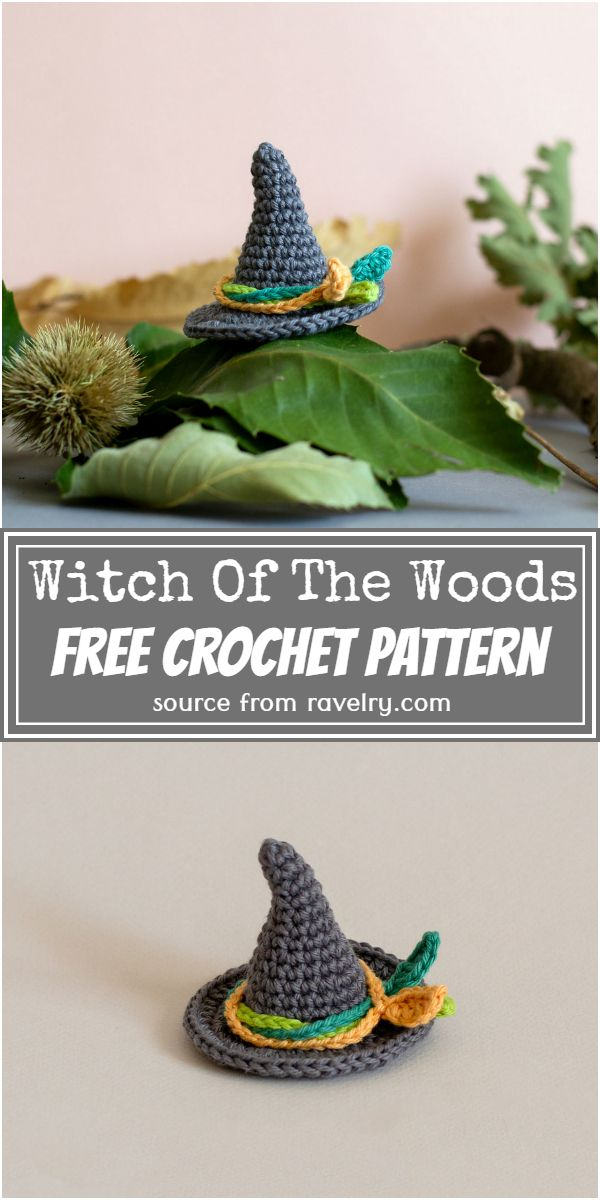 Witch Of The Woods Crochet Pattern