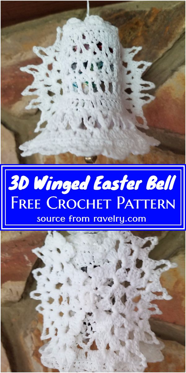 Winged Easter Bell Pattern