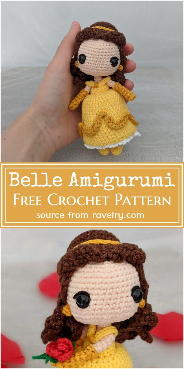 Belle Amigurumi Crochet Pattern