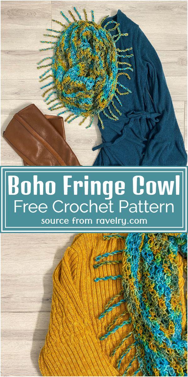 Boho Cowl Pattern