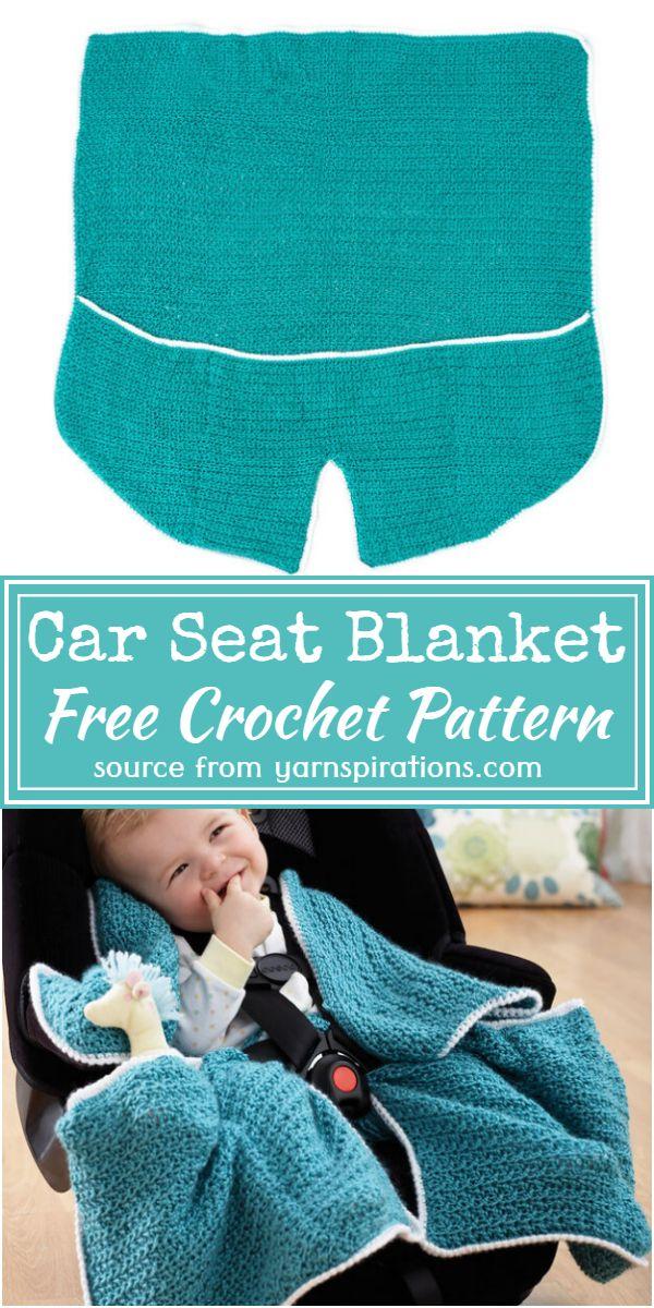 Car Seat Blanket Crochet Pattern