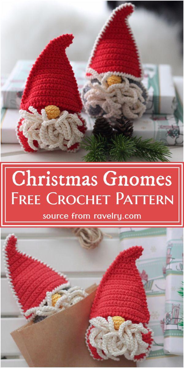 Christmas Gnomes Crochet Pattern
